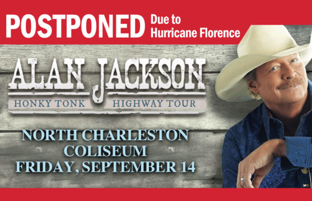 postponed click here for ticket reschedule details get your tickets to alan jackson - Alan Jackson Honky Tonk Christmas