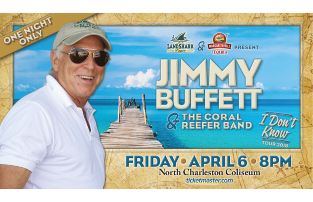 Jimmy Buffet – Live at the Coliseum April 6 | 92 5 Kickin' Country