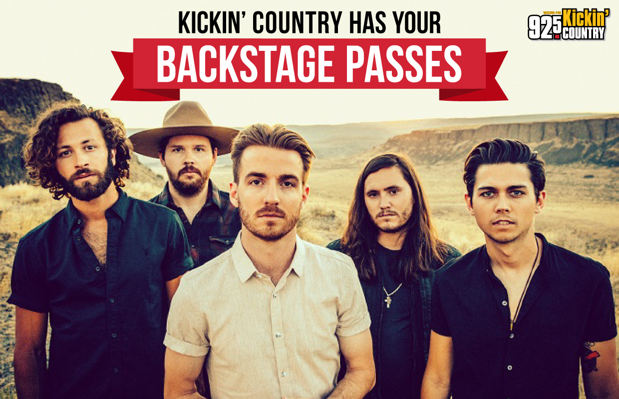 Kickin Country Has Your Backstage Passes Meet Lanco At Music Farm